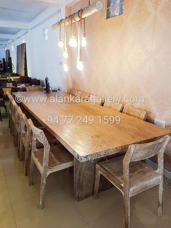 Dining room furniture dining tables and chairs alankara for Dining room designs in sri lanka