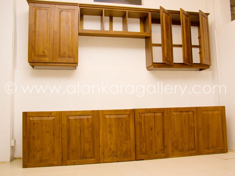 Sri Lanka Furniture Recently Made Wooden Furniture by  : teak pantry cupboard from www.alankaragallery.com size 800 x 600 jpeg 68kB